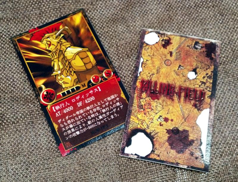 オリジナルトレーディングカードゲーム「キリングフィールド」
