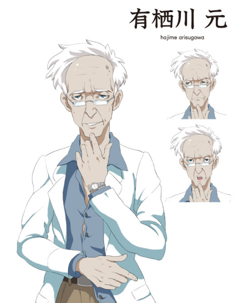 有栖川 元 ウディタ RPGゲーム キャラクターデザイン