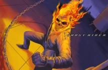 ゴーストライダー「地獄の炎」イラスト