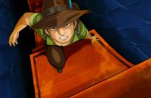 バベルの塔「空中庭園を目指して…」ゲームイラスト