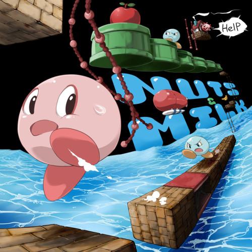 ナッツ&ミルク(NUTS&MILK)「HelP me!」ゲームイラスト