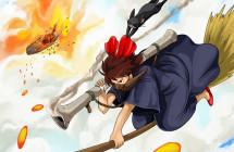 風の谷のナウシカ×魔女の宅急便「魔女の襲撃」アニメ・漫画イラスト