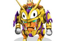 グレンラガン×おしりかじり虫「おしりガンメン」アニメ・漫画イラスト
